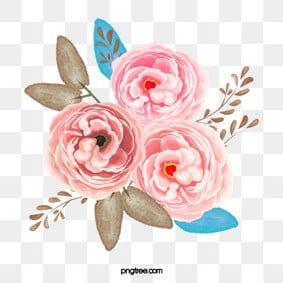 Rozowe Kwiaty Zloty Zlota I Rozowe Kwiaty Flower Clipart Images Vector Flowers Flower Png Images