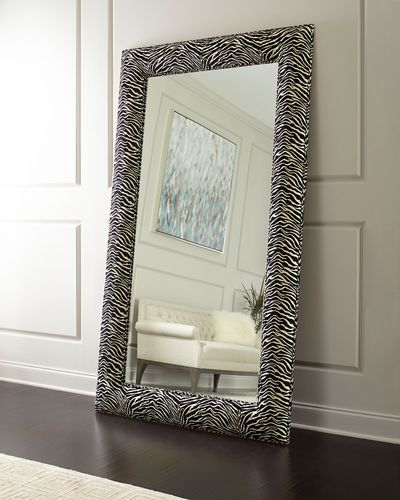 Hbh8u Haute House Delilah Animal Print Floor Mirror Home