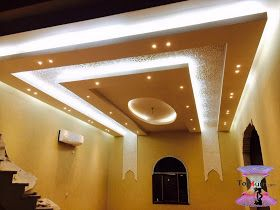 افضل ديكورات جبس اسقف راقيه 2019 Modern Gypsum Board For Walls And Ceilings Decor Interior Design Modern Gypsum Board