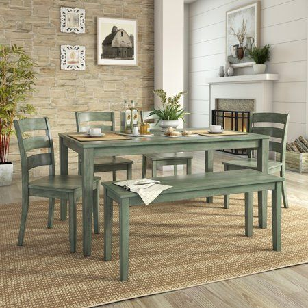 Patio Garden Dining Set With Bench Dining Furniture Sets