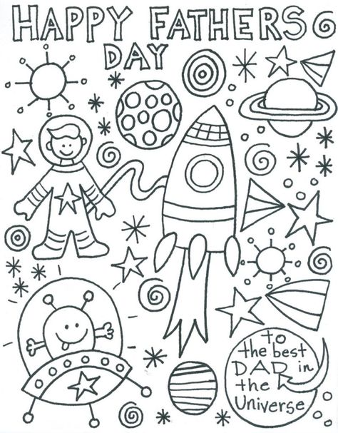 Fathers Day Coloring Page ⋆ coloring.rocks!