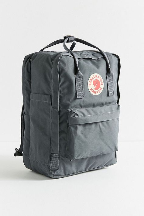 Urban Outfitters Fjallraven Kanken Padded Laptop Backpack - Light Grey One Size