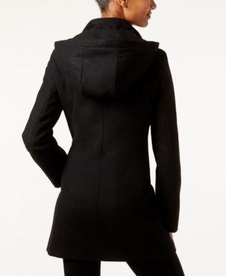 Calvin Klein Faux Leather Trim Bouclé