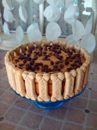 Astounding The Best Easy Healthy Dog Birthday Cake Recipe Dog Cake Recipes Funny Birthday Cards Online Hendilapandamsfinfo
