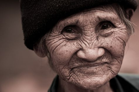 Old Thai woman