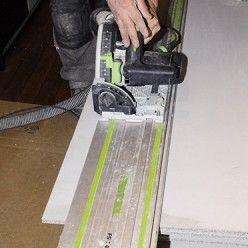 Rattraper Une Difference De Niveau Avec Une Chape Seche Avec Images Poser Du Carrelage Plancher Chauffant Electrique Colle Polyurethane
