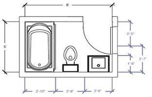 Small Bathroom Design 6x4 Bathroom Layout