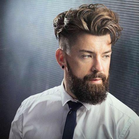 Locken Frisur Herren Friseur