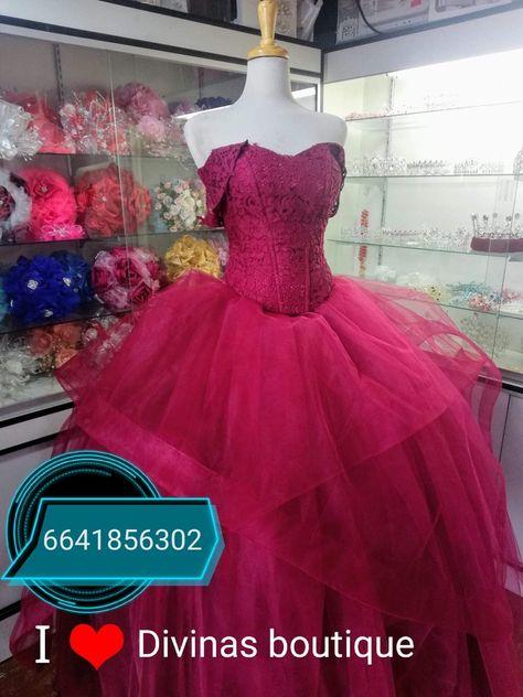 Vestido Xv Años Color Guinda Venta Y Renta En Tijuana Mx