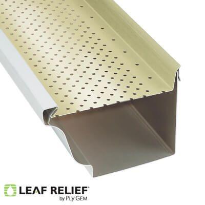 Aluminum Gutter Systems Ply Gem Ply Gem Gutters Gutter Protection