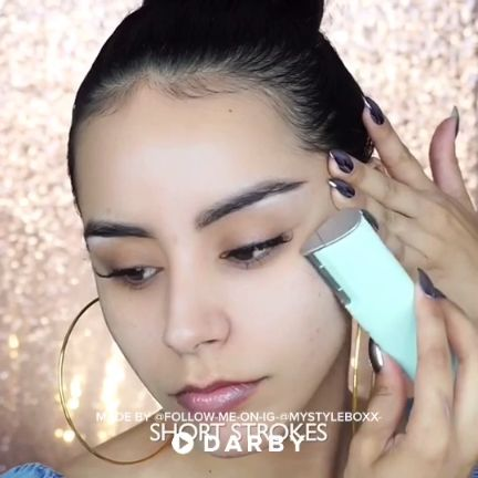 How to Dermaplane at Home Using the Dermaflash #darbysmart #beautytips #beautyhacks #beautytricks #beautytutorial #beauty #dermaplaning #skincare #skintreatment #skinroutine #beautygadget #DiyBeautyProducts