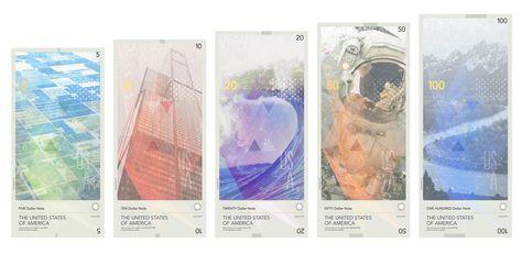 USA banknotes proposal via www.mr-cup.com