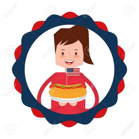 woman cartoon food american independence day vector illustration Illustration , ... -  woman cartoon food american independence day vector illustration Illustration , #AFFILIATE, #food, #american, #woman, #cartoon,  Best Picture For  american food drawing  For Your Taste You are looking for something, and it is going to tell you exactly what you are looking for, and you didn't find that picture. Here you will find the most beautiful picture that will fascinate you when called  american food aes