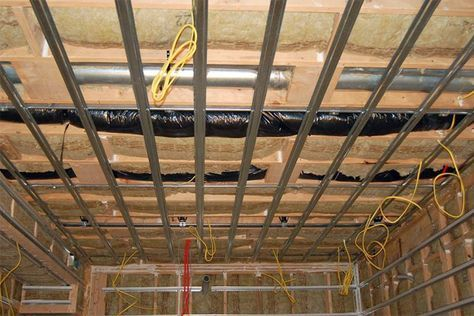 Soundproofing Ceilings Basement Ceiling Sound Proofing
