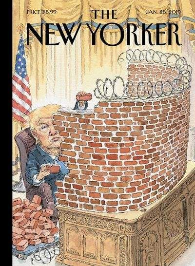 The New Yorker The New Yorker New Yorker Covers Trump Cartoons
