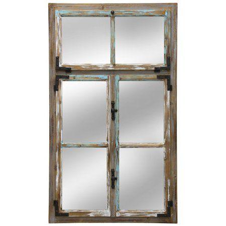 Distressed Window Pane Wall Mirror Mirror Wall Mirrors Ikea Cheap Wall Mirrors