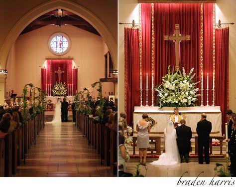 Davis-Cross Wedding at The Church of the Good Shepherd