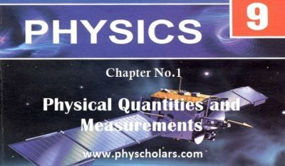 Here We Are Providing 9th Class Physics Chapter No 1 Complete Notes Are Provided Here You Can Download 9t Introduction To Physics Physics Books Modern Physics