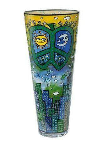 Vase Cat a Flower Designer Rizzi 23 cm von Goebel