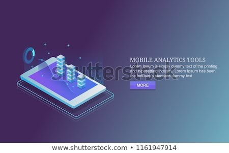 Mobile Analytics Smart Device Data Analysis Tool 3d Style