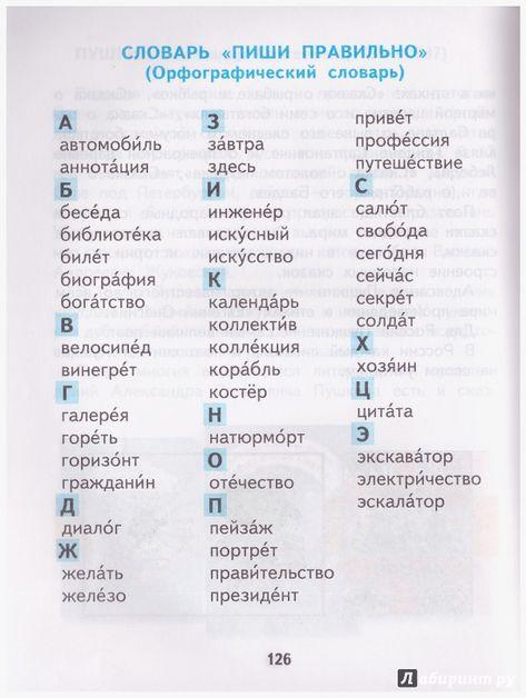 Словарь гдз орфографический