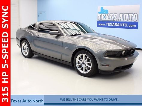 Nice Great 2010 Ford Mustang Gt Premium Texas Auto North 70557 Miles Sterling Gray Metallic 2017 2018