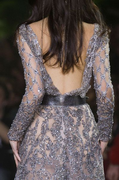 Elie Saab Couture, Spring 2016 - The Most Beautiful Backless Dresses of 2016 - Photos