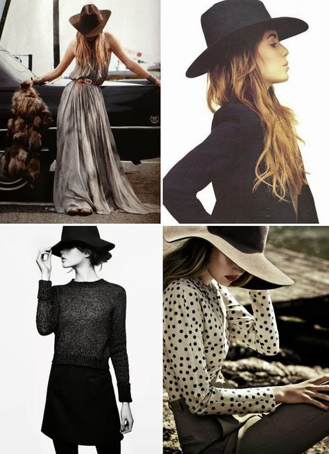 fall and floppy hats