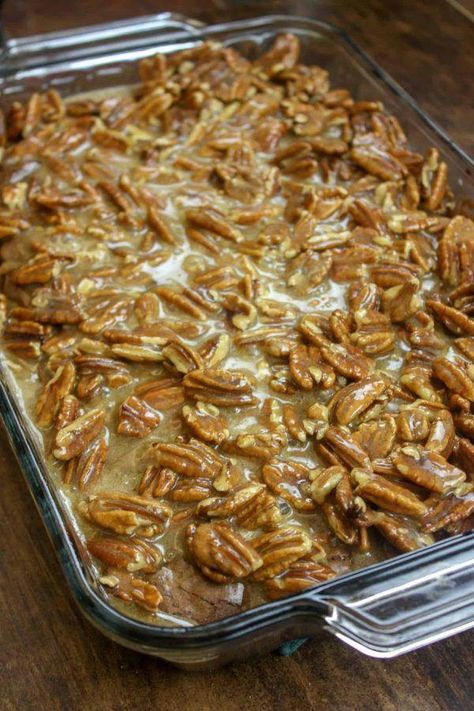 Pecan Pie Brownie Recipe In 2020 With Images Pecan Recipes