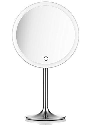 Miusco Lighted Makeup Vanity Mirror Pro 5x 10x Magnification
