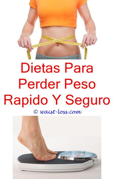 Dietas para perder peso rapido y seguro