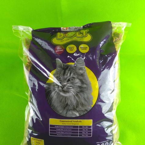 Jual Makanan Kucing Bolt Repacking 1 Kilo Harga 24rb Per Kilo Beli