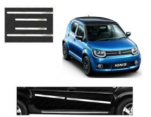 Maruti Suzuki Ignis Car Door Side Chrome Beading Set Of 4 Price
