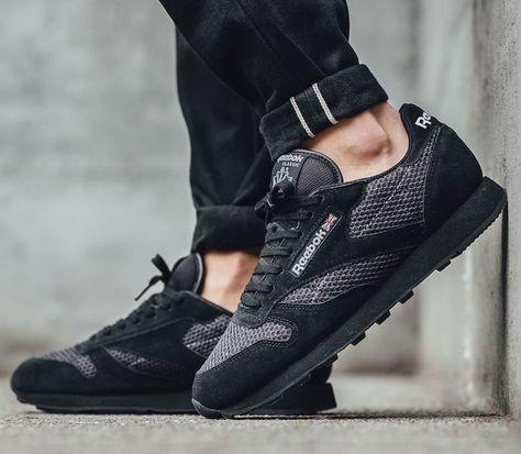 "bbc41bb3e24d Reebok Classic Leather Knit ""Black Suede"" - EU Kicks Sneaker Magazine"
