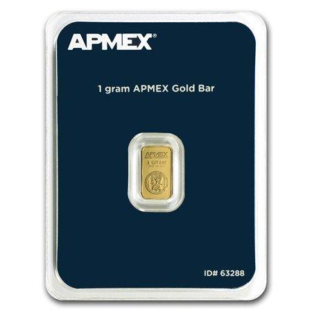1 Gram Gold Bar Apmex Tep Apmex Gold Bar Gold
