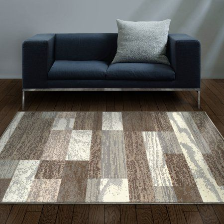 Superior Rockwood Collection With 8mm Pile And Jute Backing Moisture Resistant And Anti Static Indoor Area Rug Walma Modern Area Rugs Area Rugs Brick Design