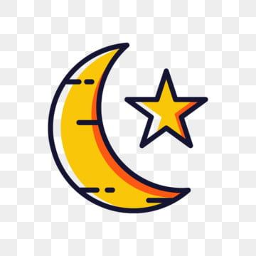 Moon And Star Islamic Icon Moon Clipart Star Icons Moon Icons Png And Vector With Transparent Background For Free Download