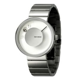 Vue steel bracelet by Yves Behar for Issey Miyake £370