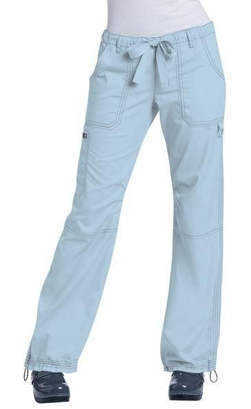 Tafford Plus Size Flare Leg Scrub Pants