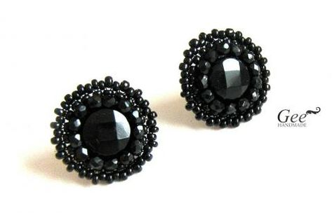 Classic Style Black Studs