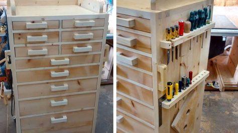 23 Idees A Adopter Pour Ranger Vos Outils De Bricolage Outils Bricolage Rangement Outils Astuce Rangement