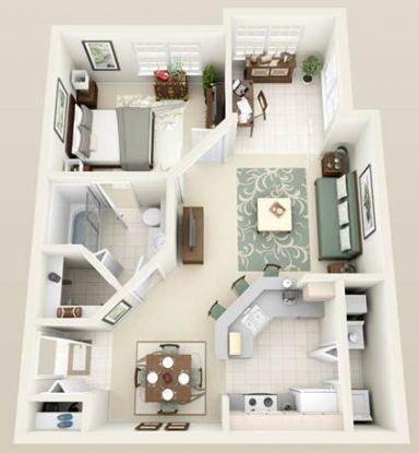 Best House Design One Floor Bath 31 Ideas House Plans Sims House Plans Small House Plans