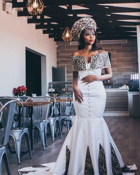 New Zulu Bride African Traditional Dress 2020 African Traditional Dresses African Traditional Wedding Dress South African Traditional Dresses