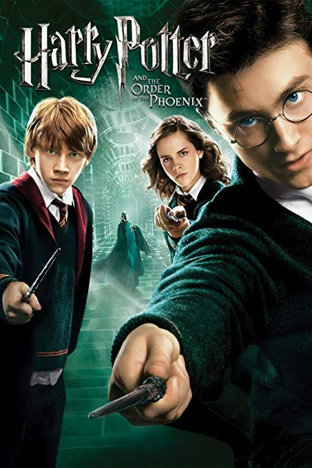 Harry Potter And The Order Of The Phoenix 2007 Harry Potter Movie Posters Harry Potter Movies Harry Potter Order