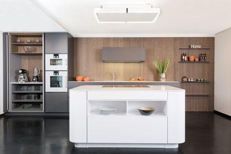Pocketschrank rational tio grifflos weiße küche mit grau und holz küchen pinterest weiße küchen grau und küche