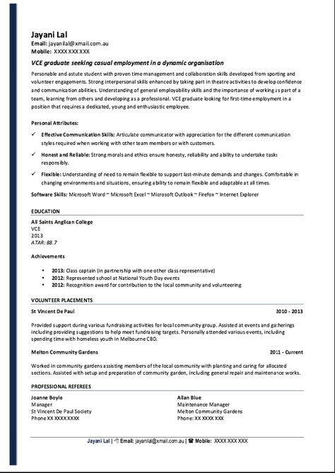 Resume Student No Paid Work Experience -    resumesdesign - general maintenance technician resume