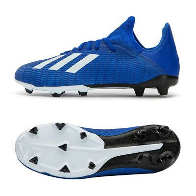 Advertisement Ebay Adidas Jr X 19 3 Fg Football Shoes Soccer Cleats Blue Eg7152 Us 3 In 2020 Football Shoes Soccer Cleats Nike Kids Soccer Cleats