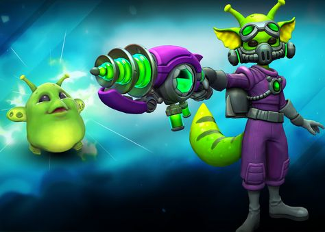 Hello fellow gamers. Alienware Arena holds a new giveaway for Paladins. Let's hear them out. Claim the LimitedInvader PipSkin! Keys are now open to Level 10+ Members. This Pip skin is out of this world! Turn your enemies into aliens with Invader Pip. A few words about Paladins Paladins is a free to play MOBA FPS title that successfully combines the fast paced action and tactics of an FPS game with the strategic elements of the Collectible Card game genre. Yo