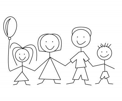 Family And Home 1 Family Picture Cartoon Family Drawing Family Clipart