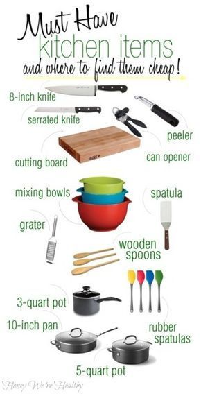 Kitchen Must Haves | Honey We're Home